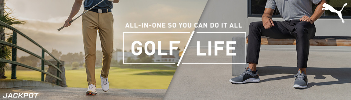 Puma Jackpot Golf Pants! All-In-One Sou You Can Do It All! Shop Now!