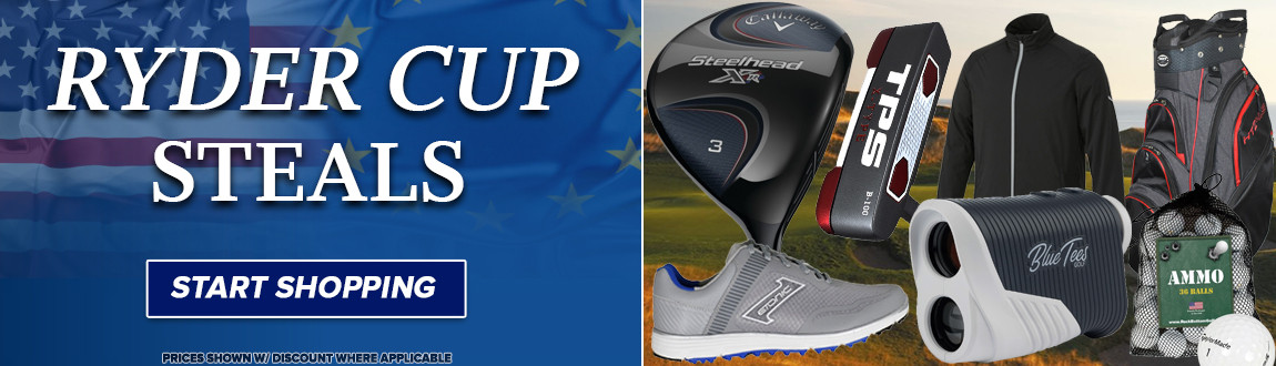 Ryder Cup Steals! Start Shopping Now!