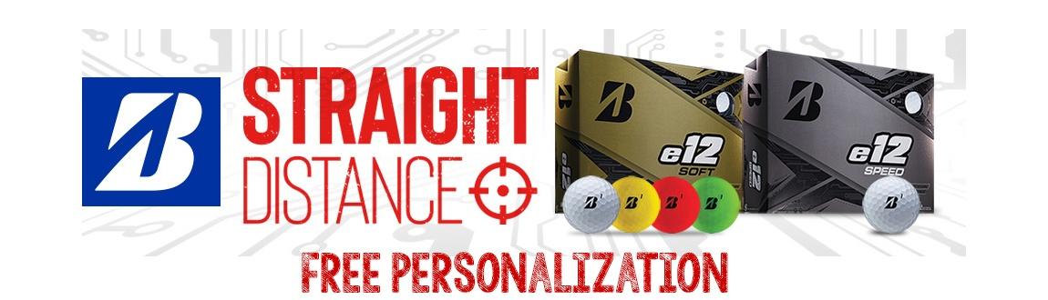 Bridgestone e12 Golf Balls + FREE Personalization!