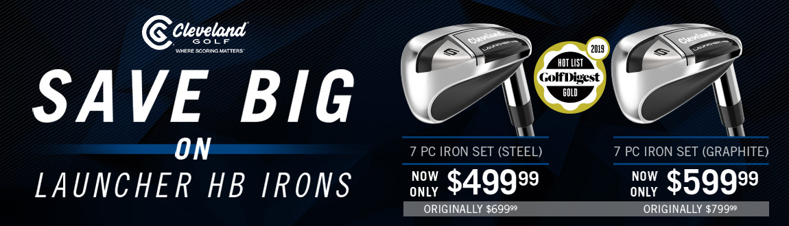 Cleveland HB Irons Price Drops Now Available At RBG!