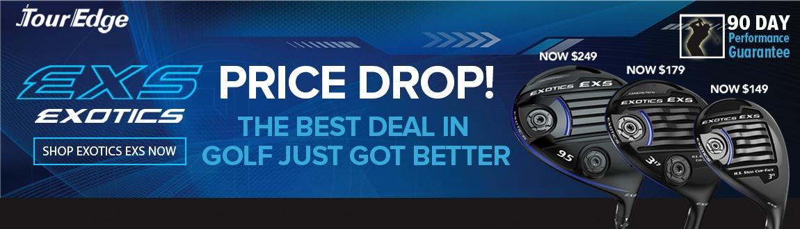Price Drop Alert: Tour Edge EXS Savings!