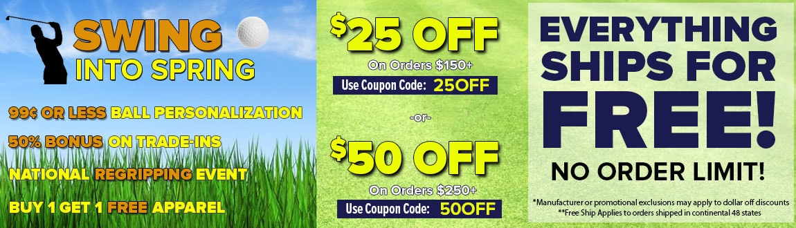 Swing Into Spring Deals Are Back! Save HUGE This Week ONLY At RBG!