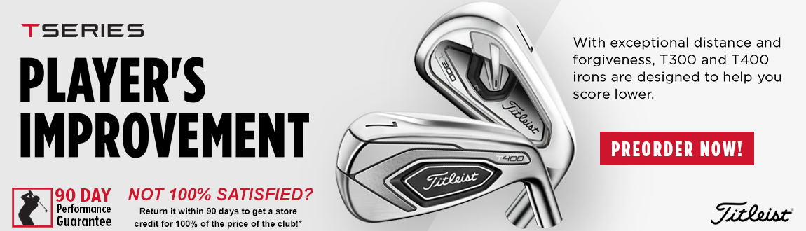 Pre-Order Now: Titleist T-Series Irons At Rock Bottom Golf!