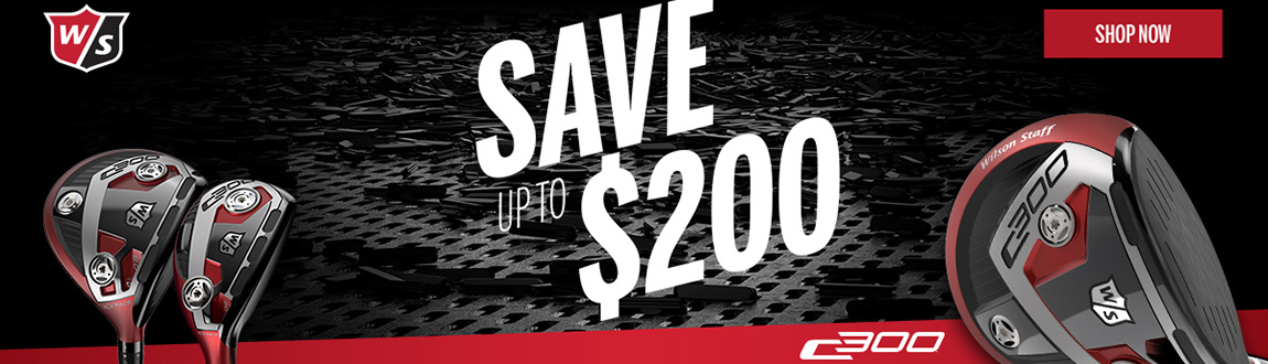Save Up To $200 On Wilson C300 Clubs!