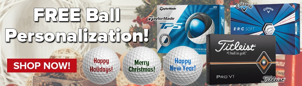 FREE Ball Personalization - Shop Now!