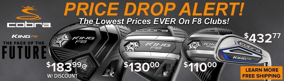 COBRA KING F8 Price Drops!