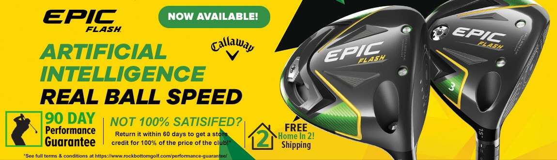 FREE Home In 2! Shipping On Callaway Flash Epic Woods At RBG!