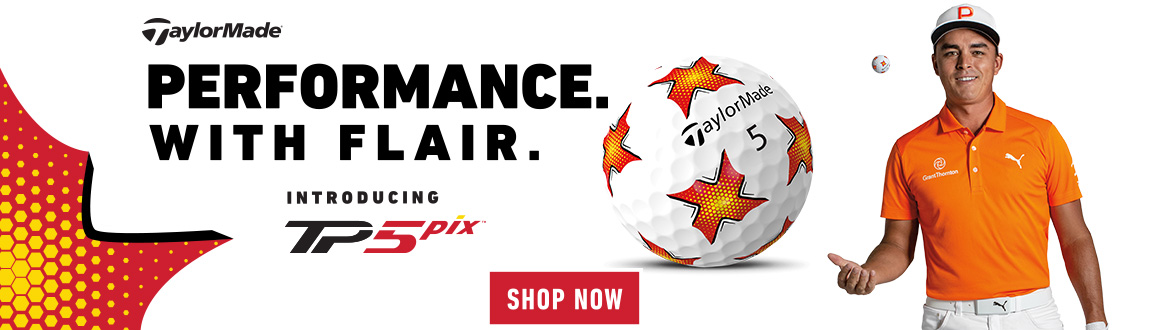 Performance With Flare! Shop TaylorMade TP5 Pix Golf Balls!