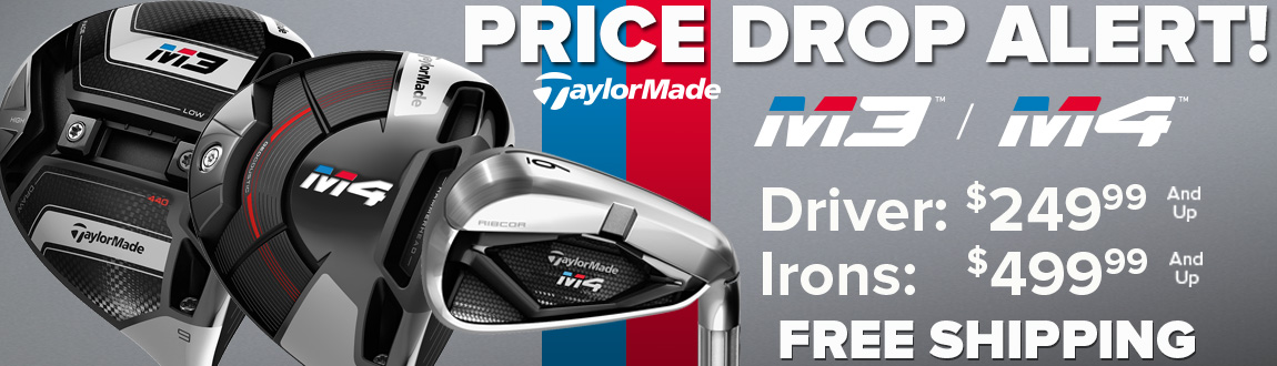 TaylorMade M3/M4 Price Drops Live At RBG!