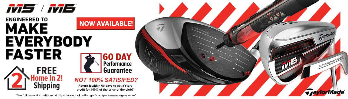 TaylorMade M5/M6 Clubs Now Available At RBG!