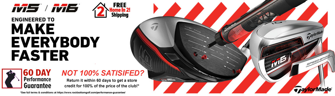 TaylorMade M5 / M6 + FREE Home In 2! Shipping!