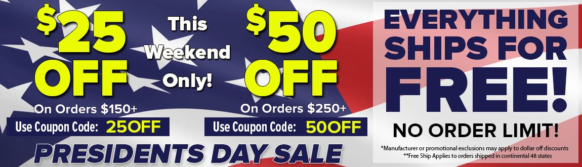Presidents Day Sale: Buy More Save More!