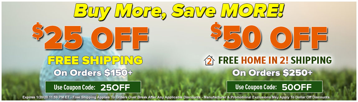 Buy More, SAVE MORE With Up To $50 Off Your Order - This Weekend ONLY!