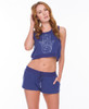 Palm Astrology Heather Terry Crop and Short Set