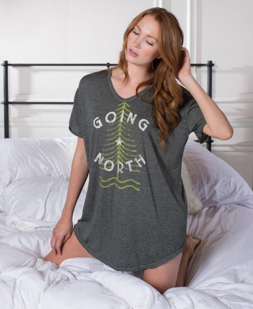 Going North Oversized Nightshirt