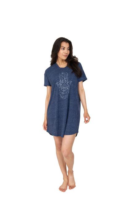 Astrology Line Art Night Shirt