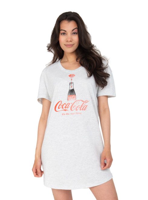 Coke Nightshirt Front View