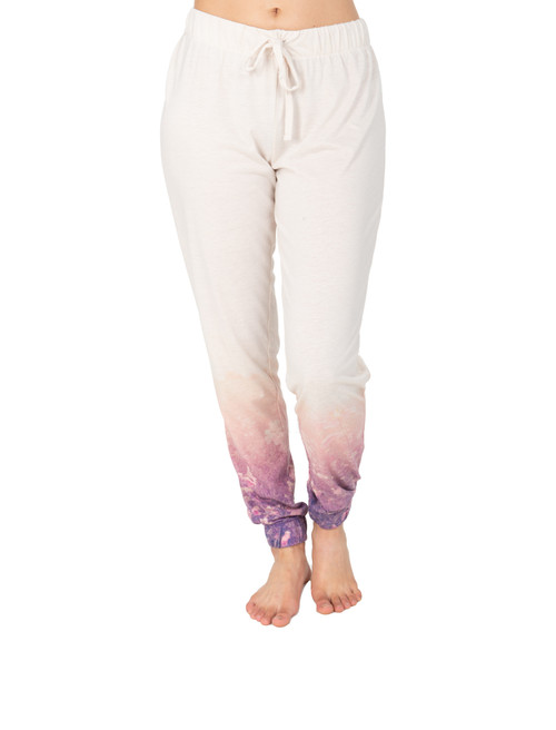 Wildflower Poly Linen Jogger