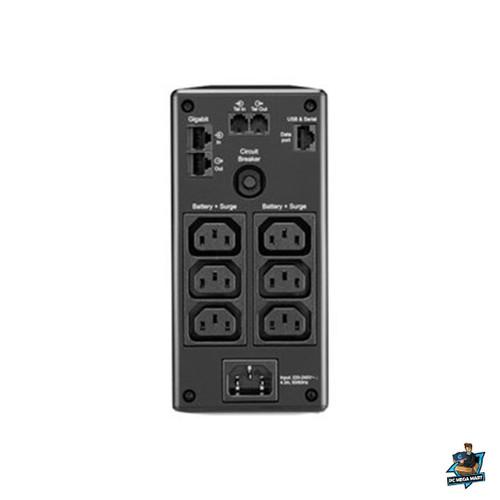 BR650MI - APC (BR650MI) BACK-UPS PRO (BR), 650VA, IEC(6), AVR, LCD MONITORING, 2YR WTY -