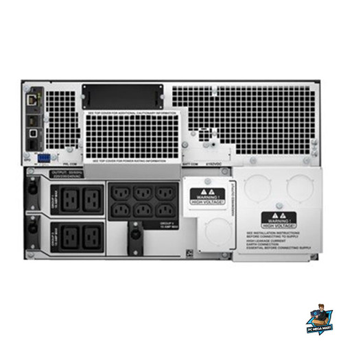 SRT10KRMXLI - APC SMART-UPS (SRT), 10K VA, IEC(10), NETWORK, LCD, 6U RACK/TWR, 3YR -