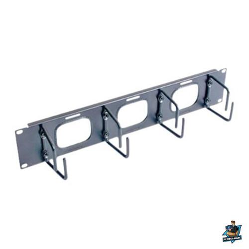 AR8428 - APC (AR8428) 2U HORIZONTAL CABLE ORGANIZER W/ PASS-THRU BLACK -