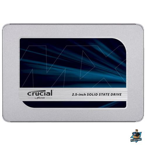 "CT250MX500SSD1 - CRUCIAL MX500 250GB, 2.5"" INTERNAL SATA SSD, 560R/510W MB/s, 5YR WTY -"
