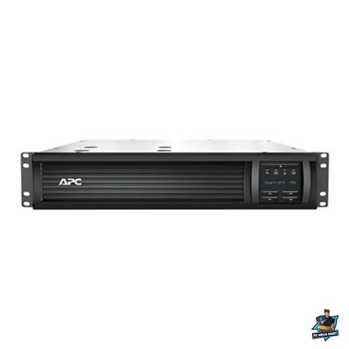 SMT750RMI2UC - APC SMART UPS(SMT) 750VA, IEC(4), USB, SERIAL, SMART SLOT, LCD, 2U R, SMART CONNECT-3Y WTY -