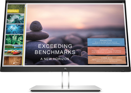 HP E24t G4 Display, Catalog (24, T, Sparkling Black) Slide Designer Screen, Center Facing
