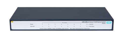 JH330A - HPE OfficeConnect 1420 8G PoE+ (64W) Switch