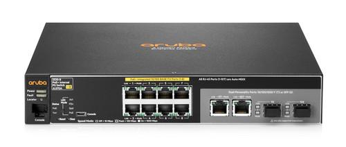 JL070A - Aruba 2530 8 PoE+ Internal PS Switch