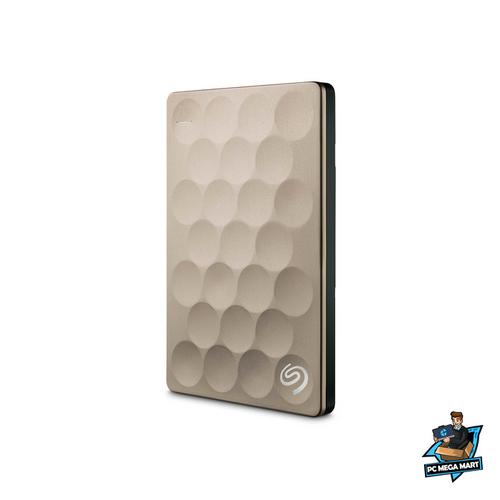 Seagate Backup Plus Ultra Slim external hard drive 1000 GB Gold 2