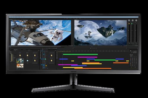 """LS34J550WQEXXY - 34"""" SJ550 Ultra WQHD Monitor"""