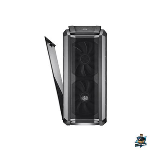 MCM-H500P-WGNN-S00 - COOLERMASTER MASTERCASE H500P ATX, TEMPERED GLASS WINDOW, 2X200MM RGB FANS MESH WHITE -