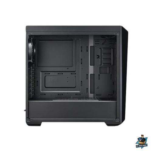 MCW-L5S3-KANN-01 - COOLERMASTER MASTERBOX LITE 5, ATX, BLACK WITH DARK MIRROR DESIGN, FULL SIZE TRANSPARENT P -