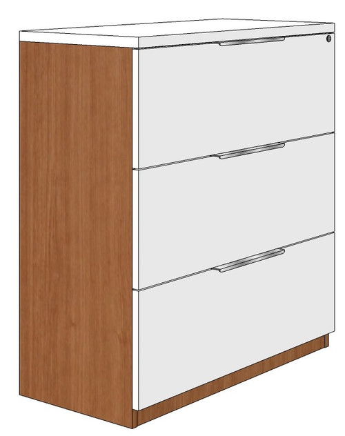 Three-Drawer Lateral File