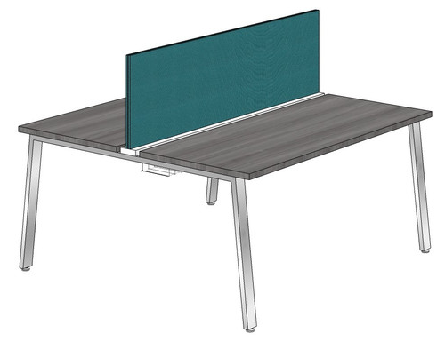 """Synapse 2-packs with 18"""" Tackable Privacy Panel, 60"""" Deep Bench"""