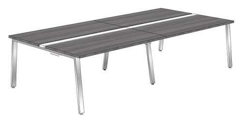 """Synapse 4-packs without Privacy Panels, 60"""" Deep Bench"""