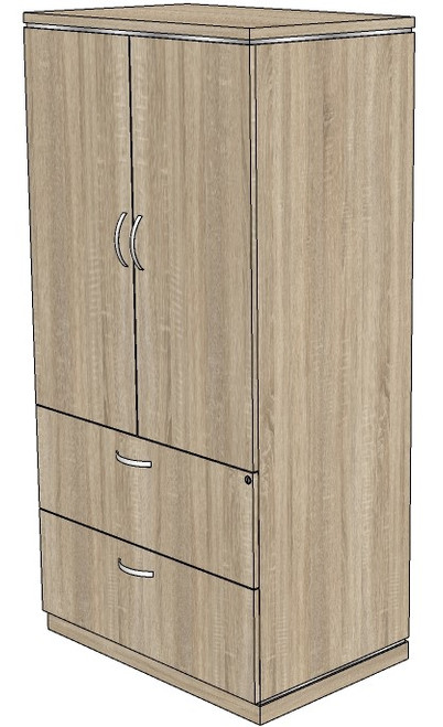 Milano Lateral File and Storage Cabinet Combo