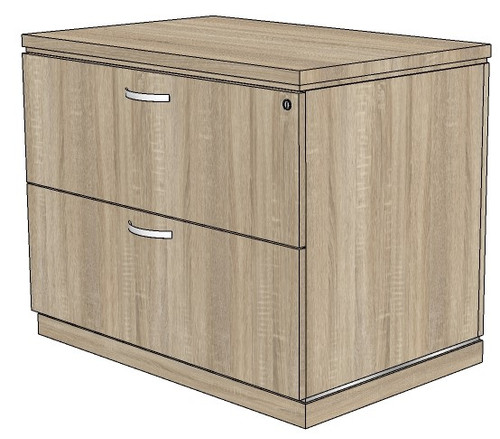 Milano 2 Drawer Lateral File