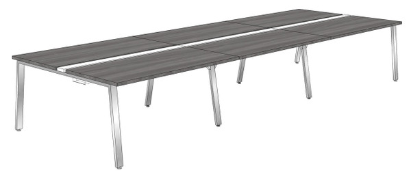 """Synapse 6-packs without Privacy Panels, 60"""" Deep Bench"""