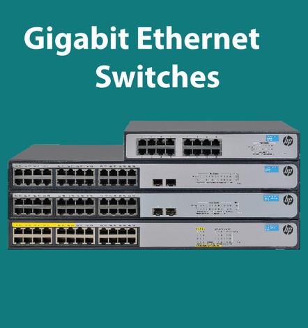 Gigabit Ethernet Switches