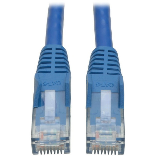 Tripp Lite 2ft Cat6 Gigabit Snagless Molded Patch Cable RJ45 M/M Blue 2'