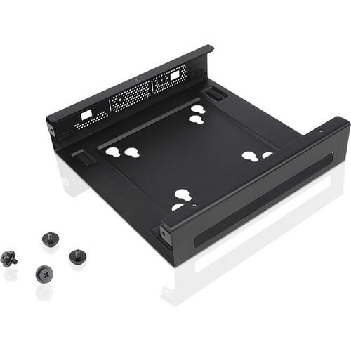 Lenovo Mounting Bracket for Desktop Computer, Workstation - Black
