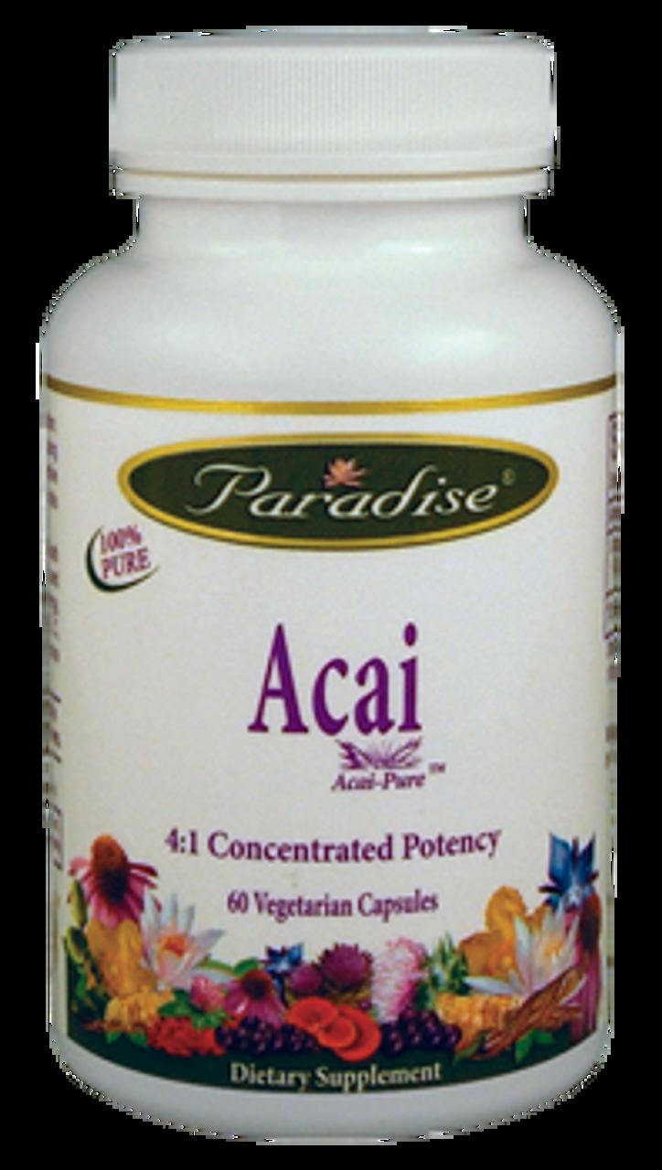 Acai Energy 60ct Paradise Herbs