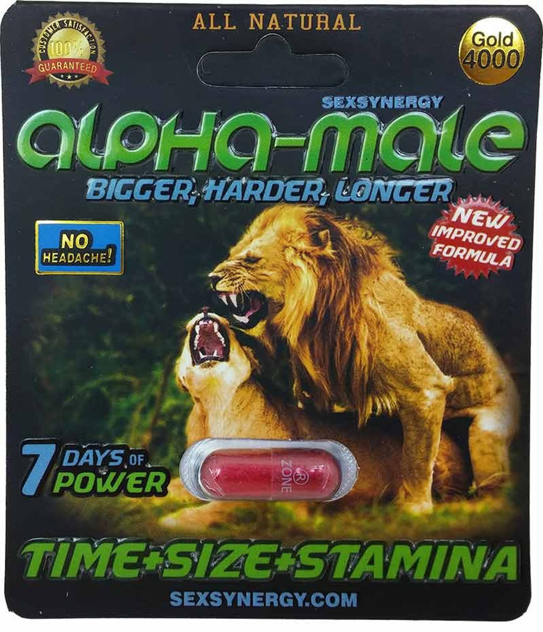Alpha Male Sex Enhancer 1ct