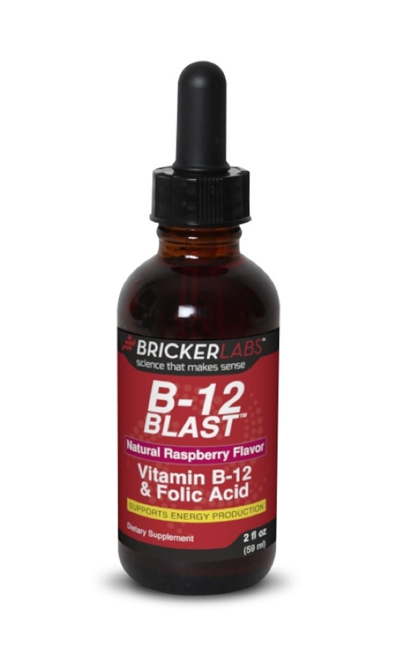 B-12 Blast 2oz Bricker Labs