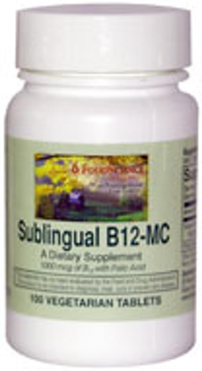 B12-MC (Sublingual) 100ct Food Science Labs