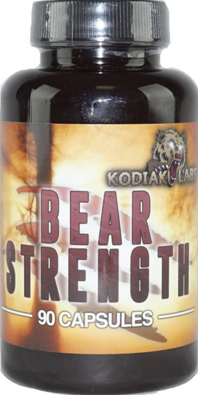 Bear Strength 90ct Kodiak Labs