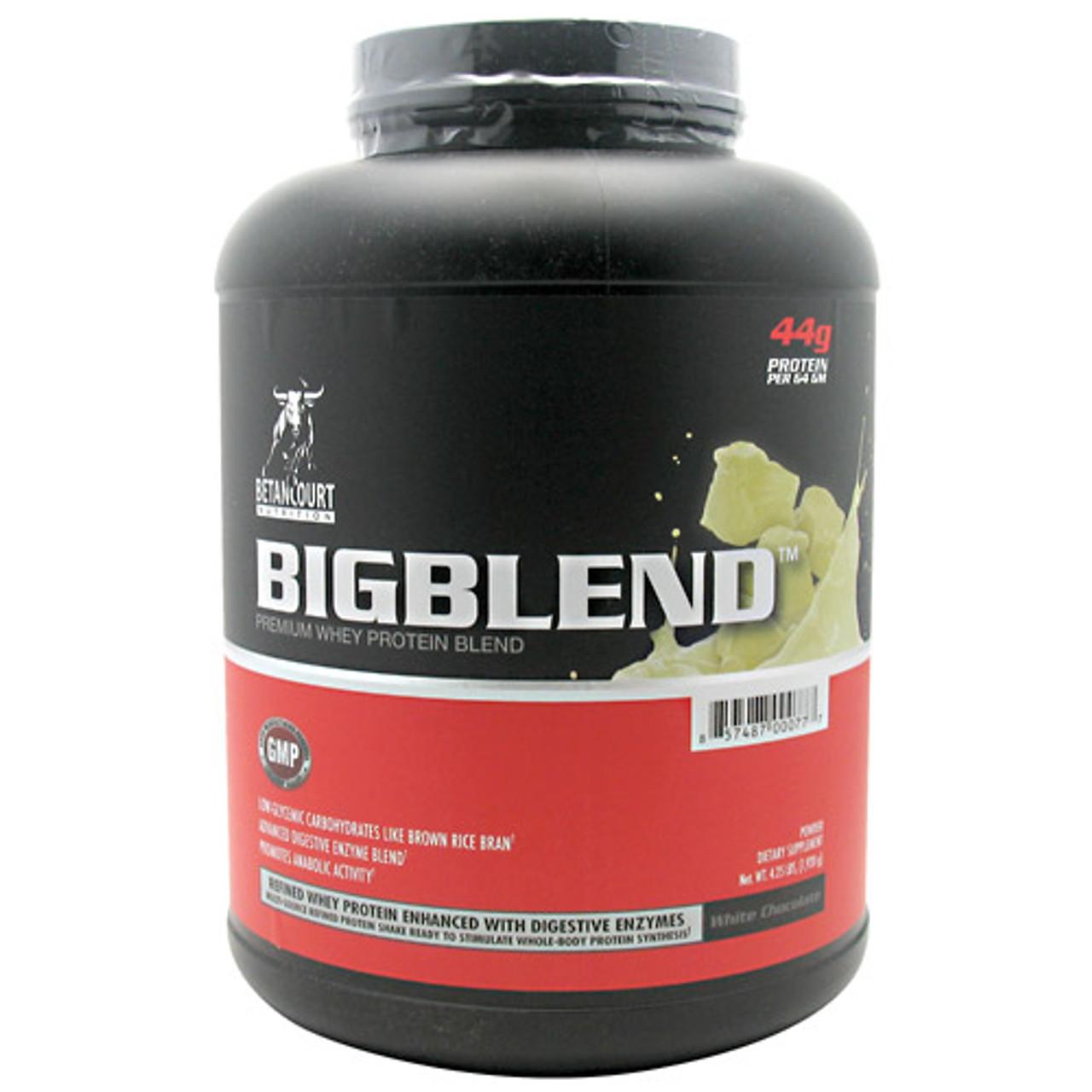 Big Blend Protein 4lb Betancourt Nutrition