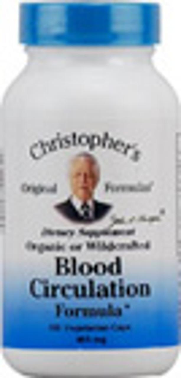 Blood Circulation Formula 100ct Dr. Christopher's